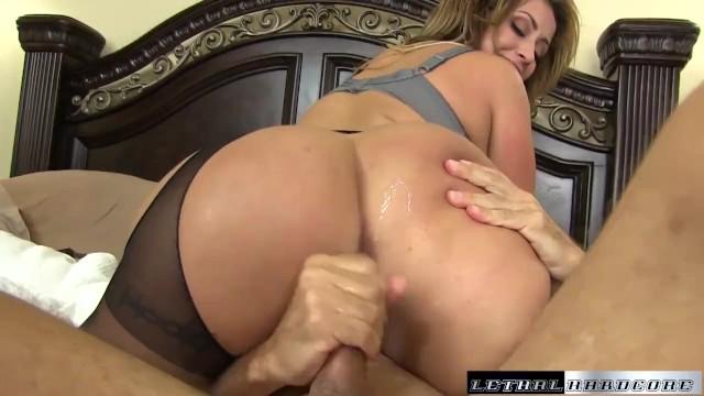 Eva Blackmails Son Teach Then Eats His Ass And Rides Dick