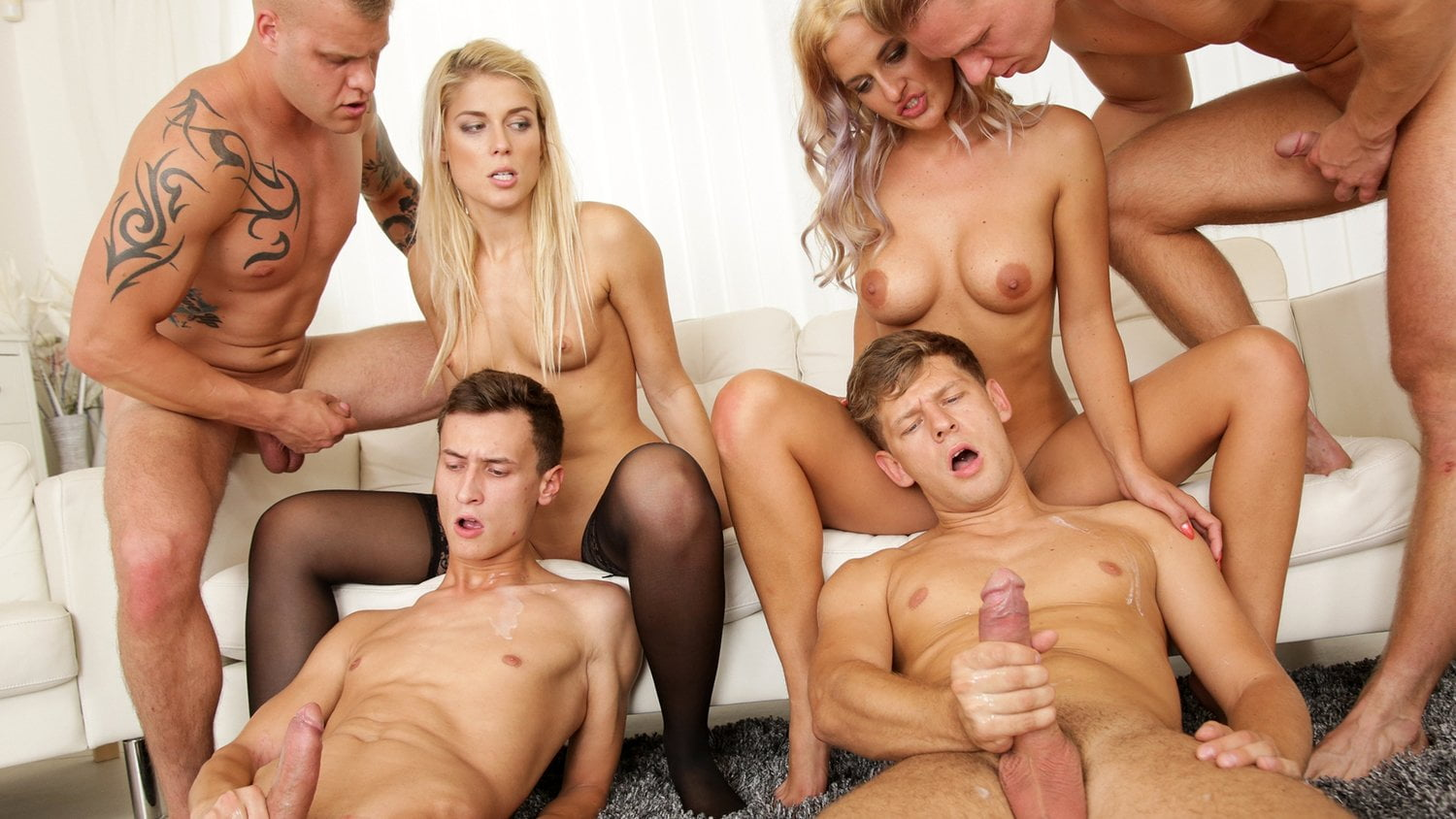 Want To Try A Bi Orgy?