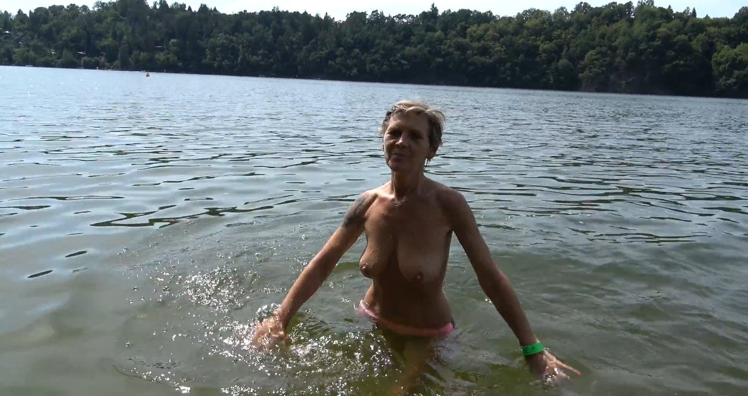 Beautiful Granny Sucking Young Cock