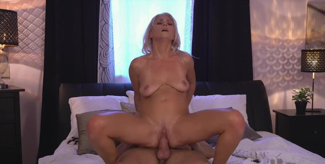 Amazing All Natural Big Tits MILF Rides A Big Rock Hard Shaft