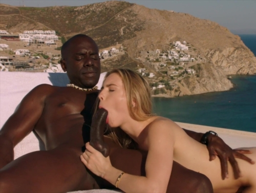 Blonde Tourist Fucked In The Ass By Black Local