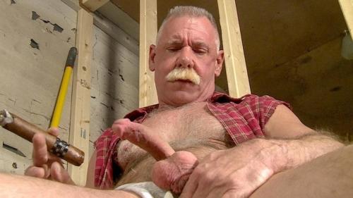 Cum Loving Daddys Fat Cigar