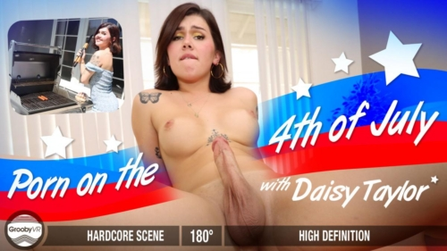 DAISY TAYLOR – Porn On The 4th of July!