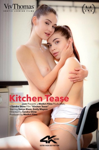EMILY MAYERS & SONYA BLAZE – Kitchen Tease
