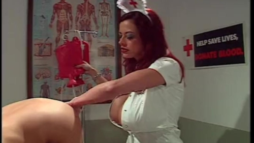 Enema Nurse Taking Care Of You