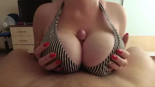 I Love Big Tits Fuck And Cum On Tits - POV
