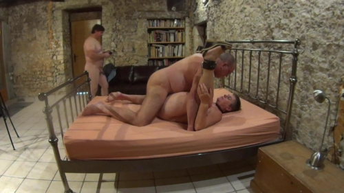 Old Slut Used By Two Men