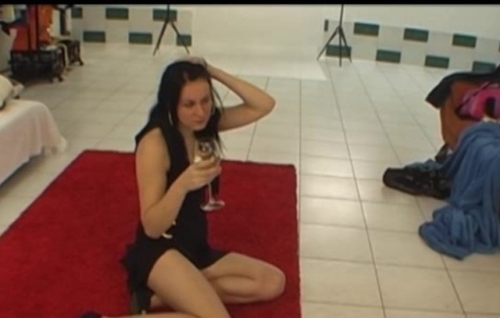 Real Czech Disco Queen In Hot Backstage Video