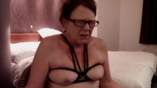Restrained In The Chair Titty Tied & Vibed To Orgasm