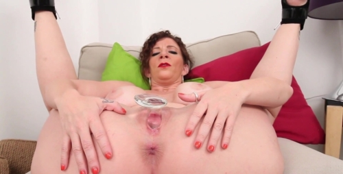 World Famous Milf Sara Jay Is All Red While Dildo Banging!