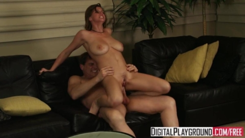 Sara Stone Gets Fucked Hard On The Couch