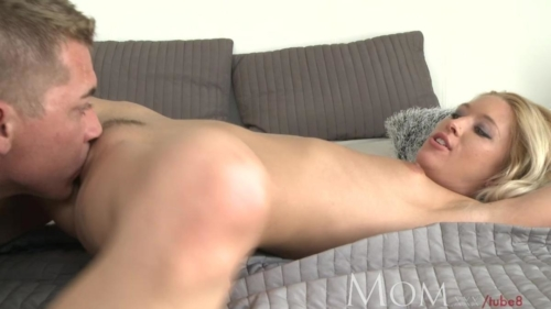 Incredible Hot Mature Blonde Has Multiple Orgasms Then A Creampie